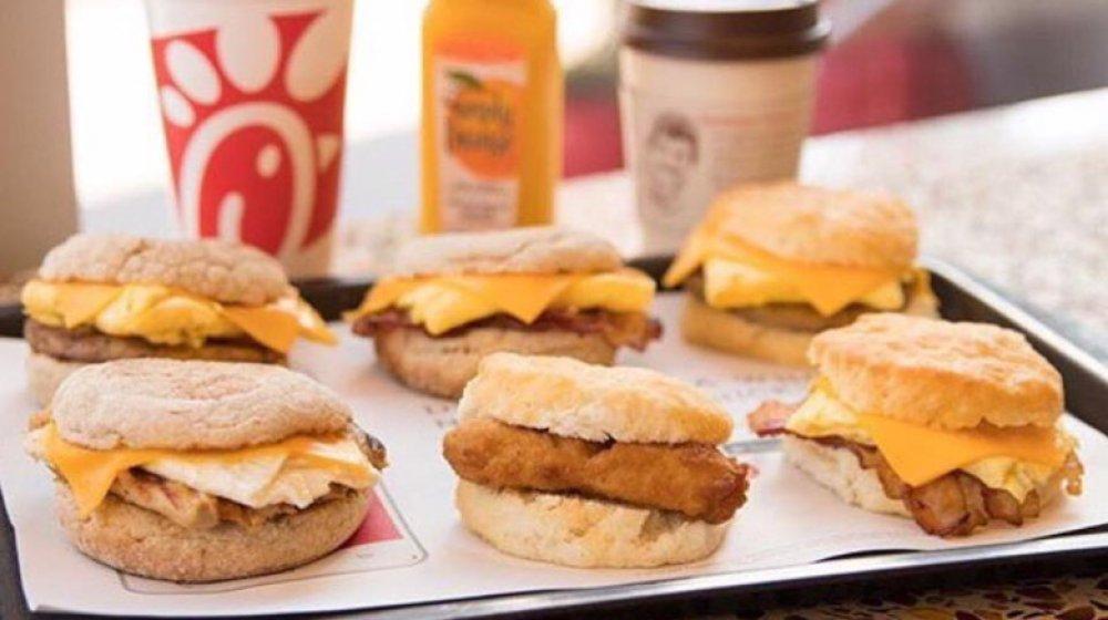 Chick-Fil-A  Breakfast Time